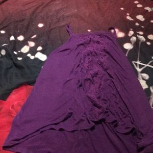 Deep purple tank